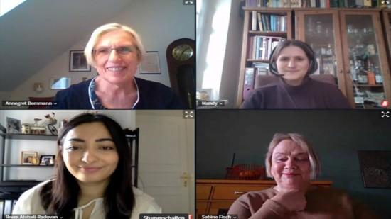AG 60 plus mit Mandy Pfeifer und Reem Alabali-Radovan